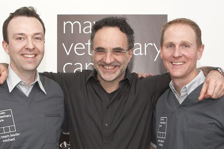 Noel-Fitzpatrick-and-maven-partners-opening-night